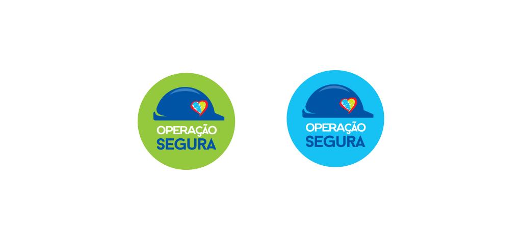 Campanha operação Segura – Logotipo