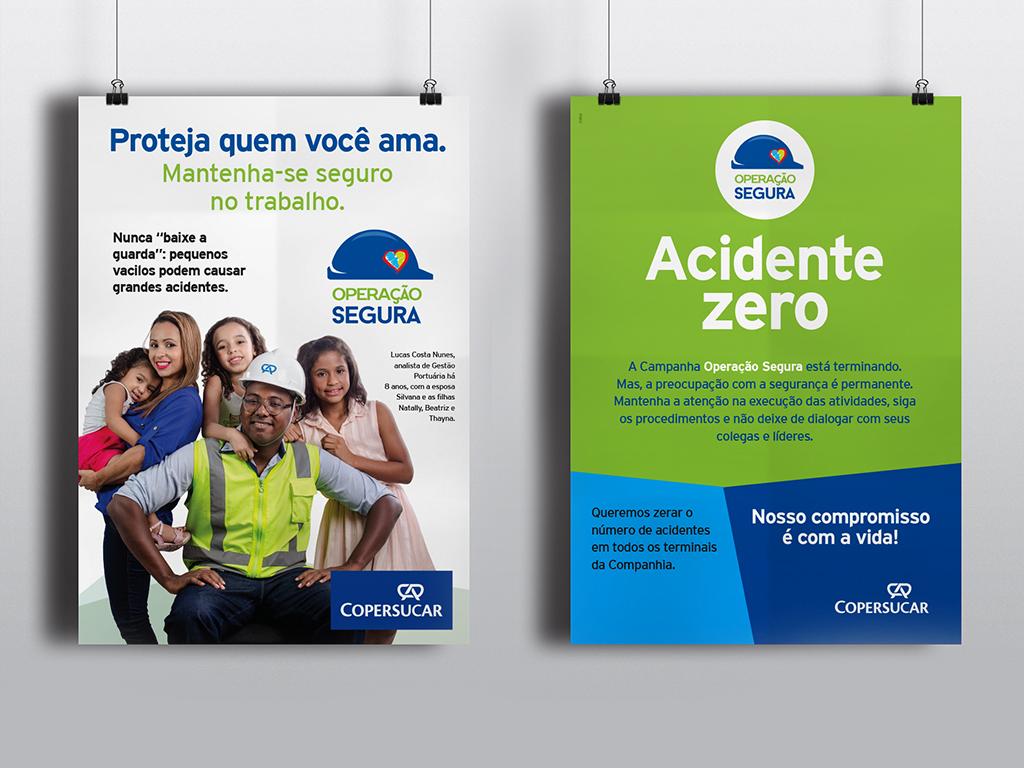 Campanha operação Segura – Posters
