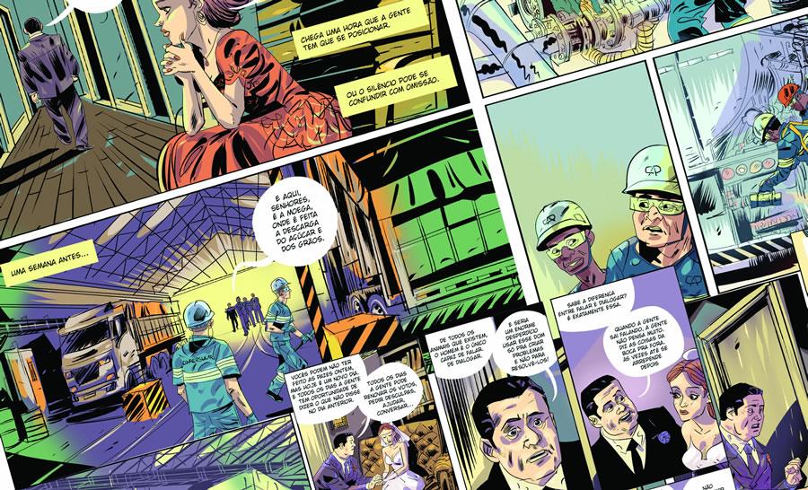 Campanha de segurança ganha força com Graphic Novel