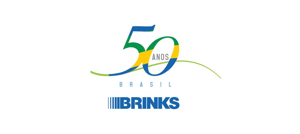 Brinks – 50 Anos – Logo