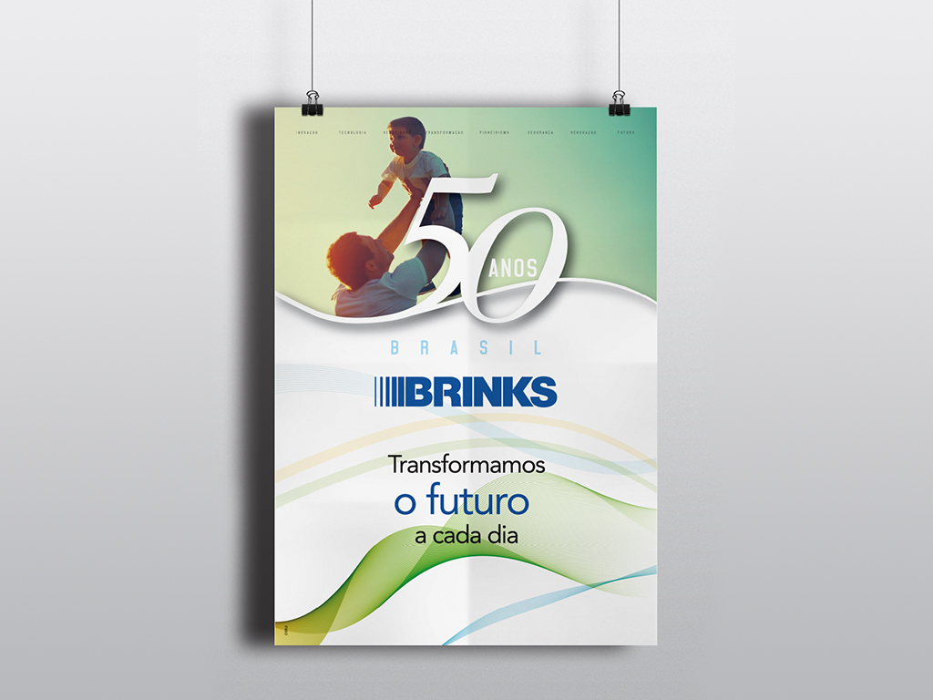 Brinks – 50 Anos – Poster