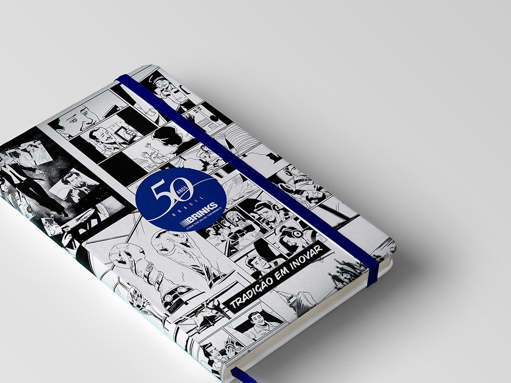 Brinks – 50 Anos – Caderneta