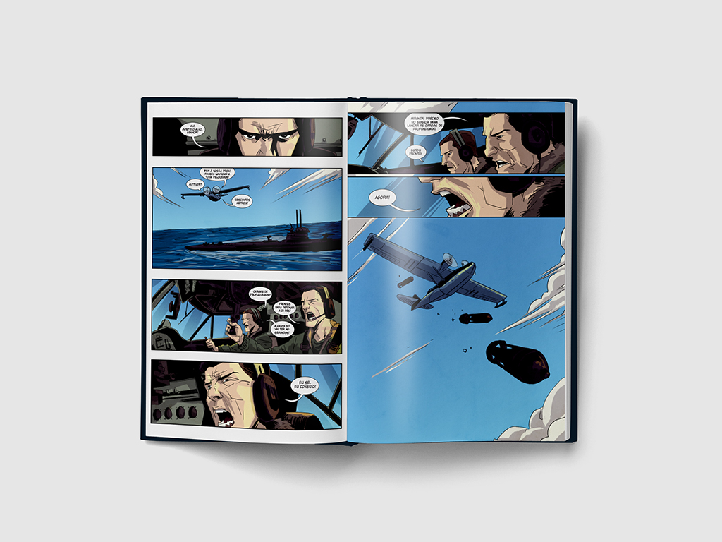 Brinks – 50 Anos – Graphic Novel