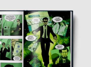 Brinks - 50 Anos - Graphic Novel