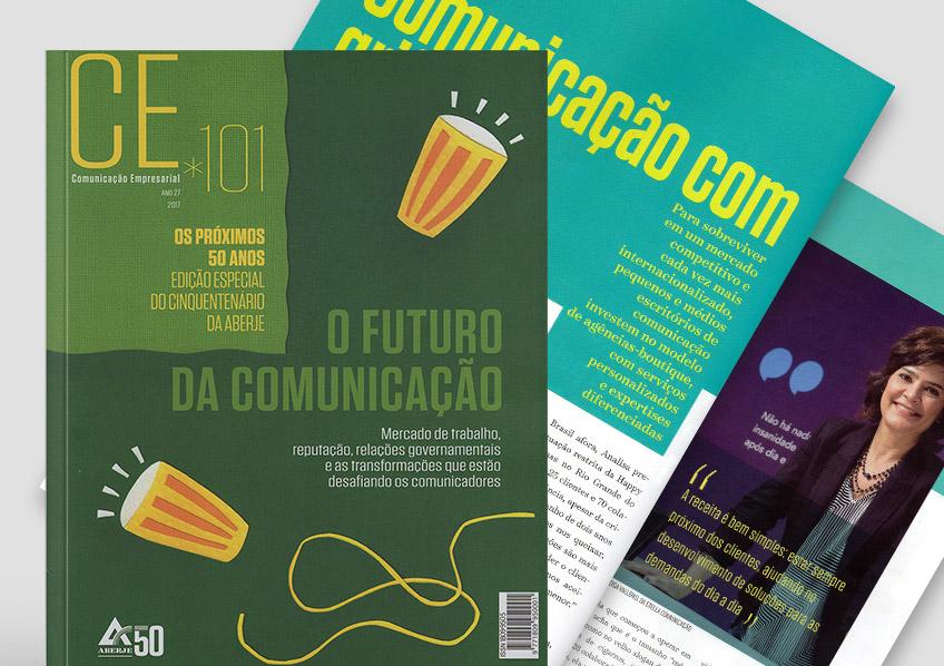 Revista da ABERJE faz reportagem sobre pequenas e médias agências de comunicação