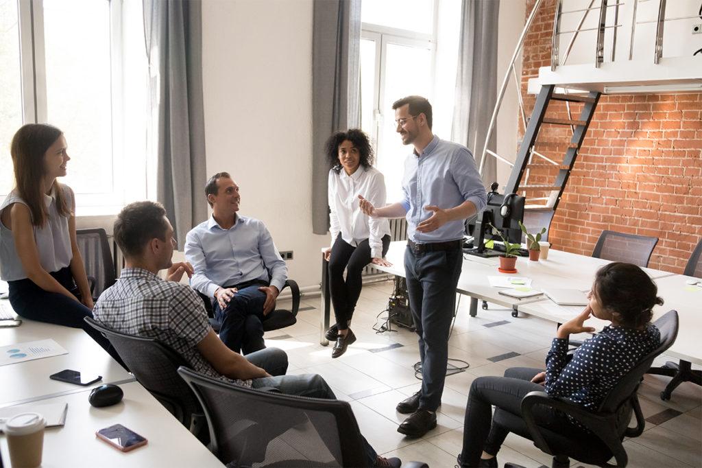 Líderes são poderosos multiplicadores de informação
